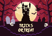 Halloween Tricks Or Treat Lett...