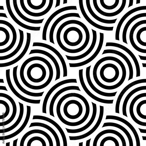 Tapety Futurystyczne  wektor-wzor-z-pogrubionymi-kolami-w-paski-stylowa-tekstura-geometryczna-nowoczesne-streszczenie-tlo