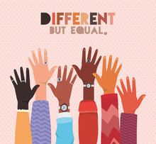 Different But Equal And Divers...