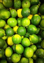Lime And Lemon On The Market, ...