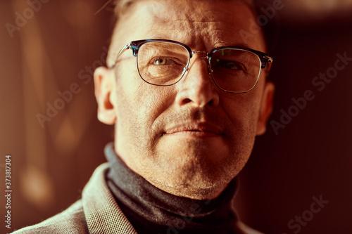 dreamy middle aged man Fototapet