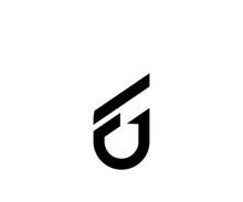 Initials Logo F U Icon Logo Design Template