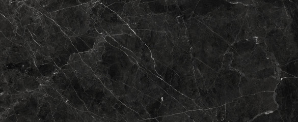 Black Marble Texture Background, Polished Black StoneTexture For Interior Exterior Home Decoration Used Ceramic Wall Tiles And Floor Tiles Surface