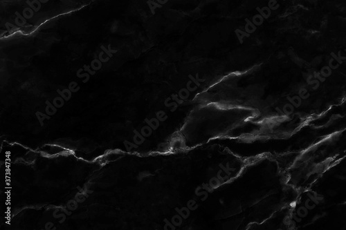 Obraz Black marble texture background with high resolution in seamless pattern for design art work and interior or exterior. - fototapety do salonu