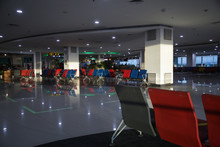 Empty Waiting Area With Seatin...