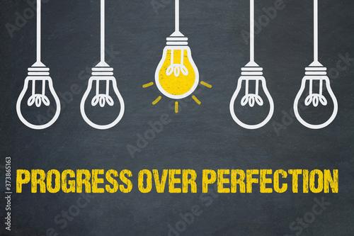 Fotografia Progress over Perfection