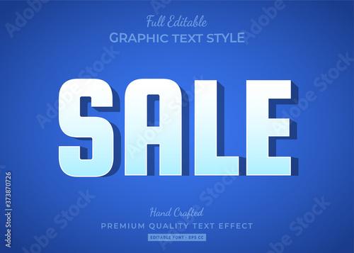 Carta da parati Sale Shadow Text Style Effect