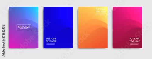 Fotografie, Obraz Minimal covers design