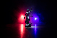 The Statue Of Justice - Lady J...