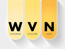 WVN - Withdraw Voucher Note Ac...