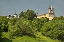 Church Of Presentation Of Most Holy Theotokos In Temple At Monastery Of Sts. Boris And Gleb (Novotorzhsky Borisoglebsky Monastery) In Torzhok. Tver Region. Russia