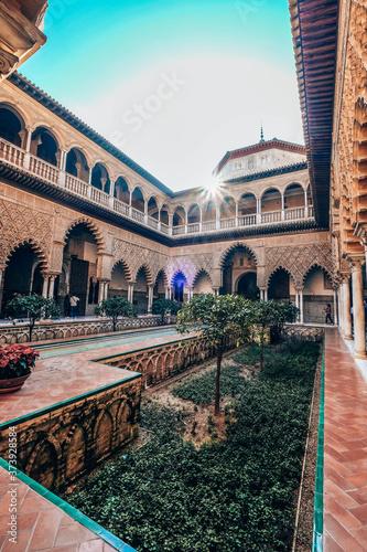 Fototapeta Royal Alcazar of Seville