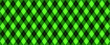 Green Harlequin Scottish Argyle Style. Diamond Pattern. Retro Argyle Pattern Checkered Texture From Rhombus, Squares Flat Tartan Checker Vector Gingham And Bluffalo Check Line Christmas, Xmass
