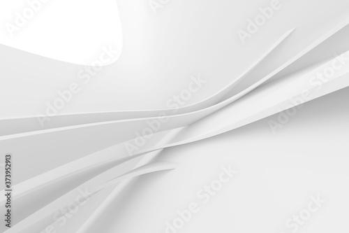Slika na platnu Abstract Engineering Background. White Business Texture