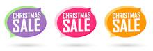 Christmas Sale Set Bubble Bann...