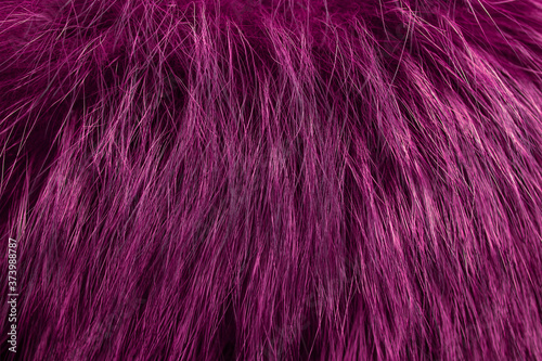Fotografija Pink fur as background. Close up
