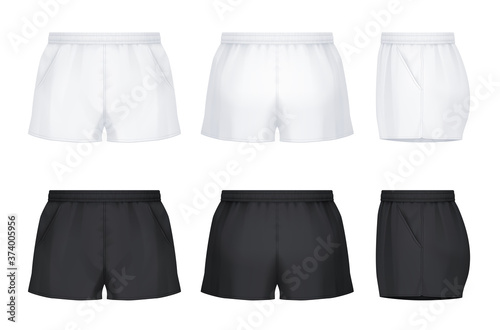 Fotografía Rugby shorts with pockets