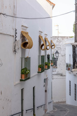 Vejer de la Frontera. Typical white village of Spain in the province of Cadiz in Andalusia, Spain