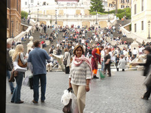 Plaza España, Roma,  Italia