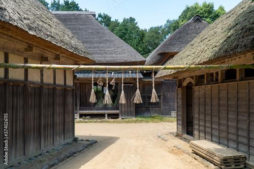 Fotografia 村の結界の飾り