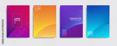 Obraz na plátne Minimal covers design