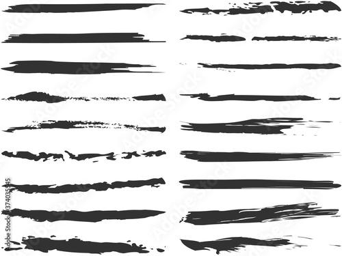 Fotografie, Obraz 筆描きラインセット 2