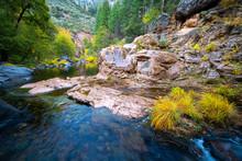 Sedona And Oak Creek Landscape With Unique Weather