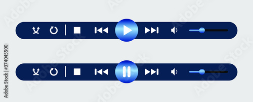 video button Canvas-taulu