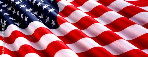 star and striped American flag