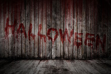 Write Halloween Message On Blo...