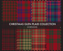 Christmas Glen Plaid Tartan Se...