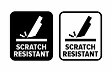 """Scratch Resistant"" Proof To Abrasion Information Sign"