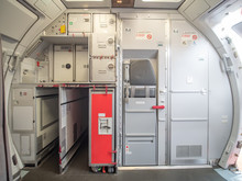 Aircraft Aft Galley With Full ...