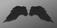 Black Bird Or Dark Agel Wings ...