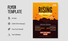 Rising Sun Festival Poster And...