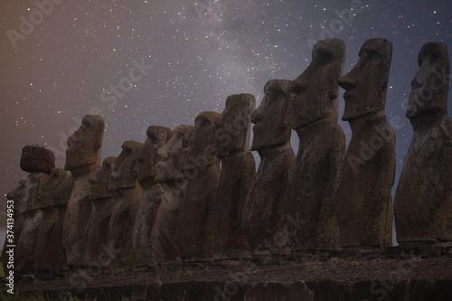 Fotografie, Obraz Easter island