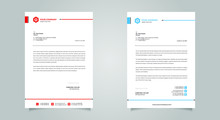 Business Style Letter Head Tem...