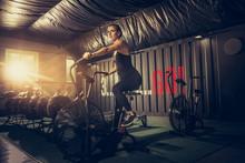 Flexible, Strong. Young Caucas...
