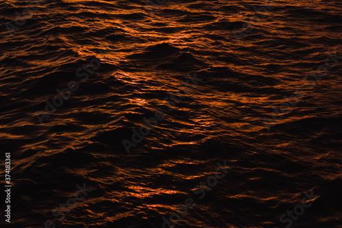 Vászonkép el mar de fuego