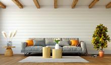 Beautiful Interior Of Living R...
