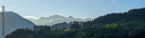 Fototapeta Frankreich im Sommer / Haute-Savoie