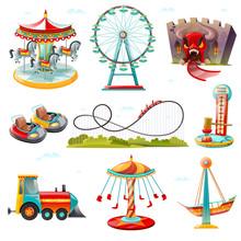 Amusement Park Attractions Fla...