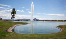 Fountain Hills Famous Fountain...
