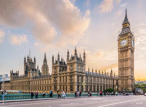canvas print motiv - Gabriel : big ben london