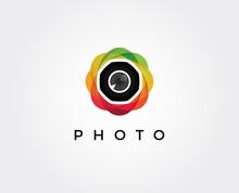 Minimal Photo Lens  Logo Templ...