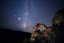 Milky Way Above The Utah Deser...