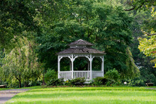 Gazebo Against The Backdrop Of...