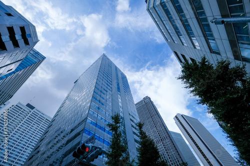 Fotografie, Obraz 【東京都】新宿の高層ビル