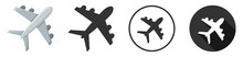 Airplane Icon Symbol Vector Il...