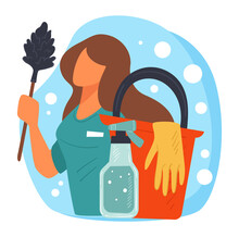 Cleaning Services Company, Housekeeper Or Maid For Home